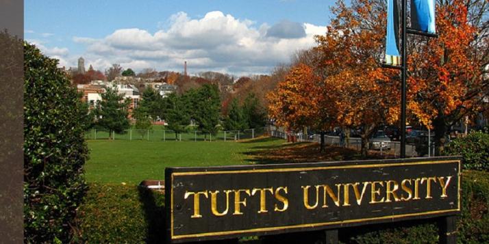 La Tufts University - cliquer pour agrandir