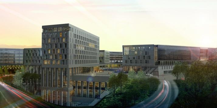 Le futur China Belgium Technology Center de Louvain-la-Neuve - cliquer pour agrandir