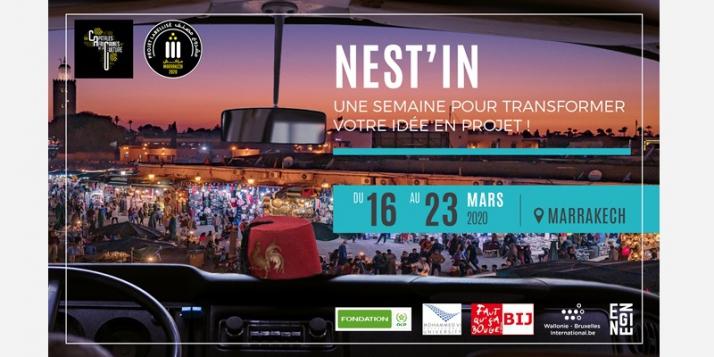 Appel à candidatures pour NEST'in Maroc - cliquer pour agrandir