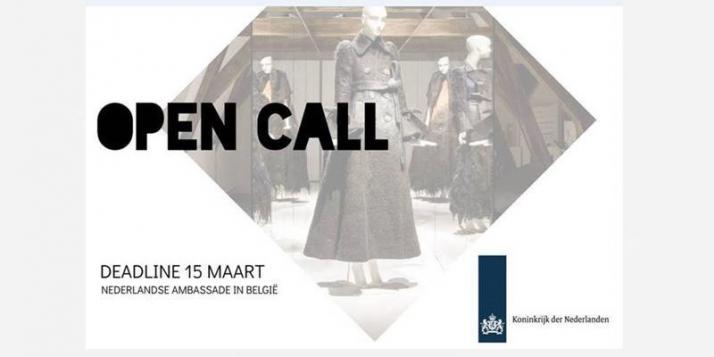 Appel à candidatures de l'Ambassade des Pays-Bas en Belgique - cliquer pour agrandir
