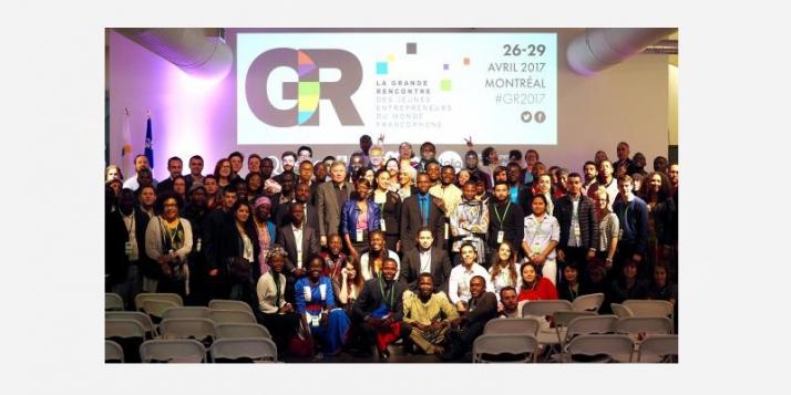 Grande rencontre des jeunes entrepreneurs du monde francophone à Montréal - cliquer pour agrandir