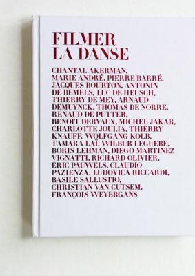 """Couverture du livre """"Filmer la Danse"""" - cliquer pour agrandir"""