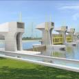 Vue 3D de la future Muong Chuoi Barrière à Ho Chi Minh  Ville - cliquer pour agrandir