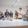 """Exposition """"Un esprit japonais. Gisbert Combaz, la céramique japonaise et la création belge"""" au Musée Royal de Mariemont. - cliquer pour agrandir"""