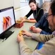 Tous les visiteurs pourront aider à confectionner 1000 grues origami en un an. - cliquer pour agrandir