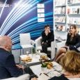 Table ronde internationale d'éditeurs belges, suisses et québécois  - cliquer pour agrandir