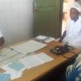 Étudiante infirmière, 3ème année en consultation à MATERI, au nord-ouest du Bénin - cliquer pour agrandir