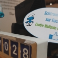 Peyo et l'univers des Schtroumpfs se posent au Centre W-B de Paris - cliquer pour agrandir