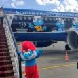 Arrivée d'Aérosmurf à Moscou - cliquer pour agrandir