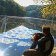 Le Lac de Nisramont, dans la Vallée de l'Ourthe - cliquer pour agrandir