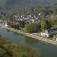 Le village de Waulsort, sur les bords de Meuse - cliquer pour agrandir