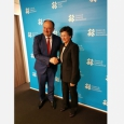 Rencontre du Ministre-Président avec Mme Arancha Gonzalez, Directrice exécutive du Centre du commerce international (ITC) - cliquer pour agrandir