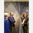 Le Ministre-Président lors de sa visite au CERN, plus grand laboratoire de recherche en physique des particules du monde - cliquer pour agrandir