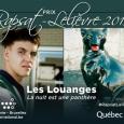 """""""Les Louanges"""" remporte le Prix Rapsat-Lelièvre 2019 - cliquer pour agrandir"""