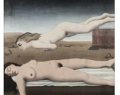 """Paul Delvaux. """"Le rêve"""". 1935. Private collection. Musée d'Ixelles, deposit"""