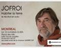 JOFROI en concert au Québec
