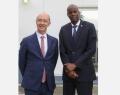 Rudy Demotte, Ministre-Président de la Fédération Wallonie-Bruxelles, et Jovenel Moïse, Président de la République d'Haïti