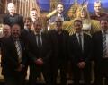 Réception bavaroise auprès de l'UE (Réception de l'Avent Ville de Nüremberg) : En haut à gauche : Gunnar Harhausen (EnCN), Cédric Brüll (TWEED), Cédric Capette (WBI), Dr. Maximilian Göltz (EnCN), Dr. Andreas Distler (EnCN) / En bas à gauche: Prof. Dr. Wolfgang Krcmar, Hervé Brequel (CTP), Ahmed Rassili (CRM group), Mathieu Quintyn (WBI), Dr Thomas Ammerl (BAYFOR), Stefan Dürr (EnCN), Dr. Alexande Buchele (EnCN)