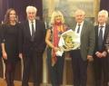 Remise du Prix littéraire des Sables d'Olonne 2017 à la Délégation générale Wallonie-Bruxelles à Paris
