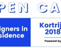 Appel à candidatures // Designers in Residence Kortrijk 2018